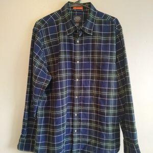 St. John's Bay men's button down shirt large